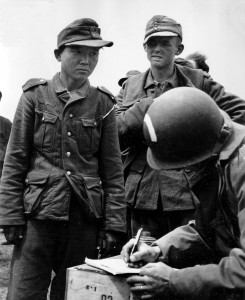 Yang Kyoungjong captured at Normandy.