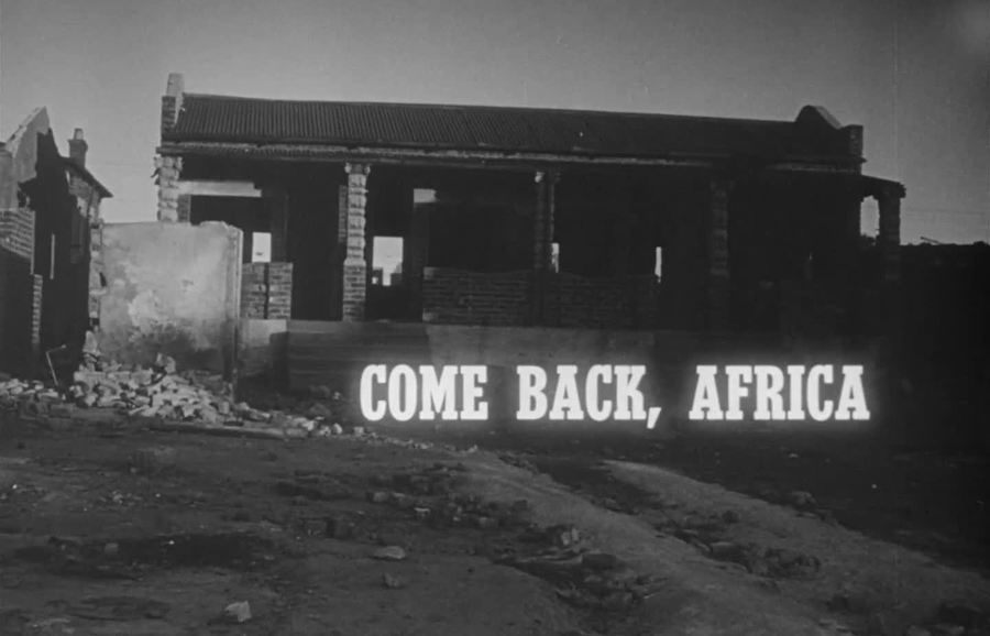 """Come Back, Africa"""" is an Apartheid Time Capsule 