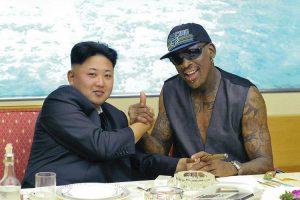 Dennis Rodman and Kim Jong-un, homies for life?